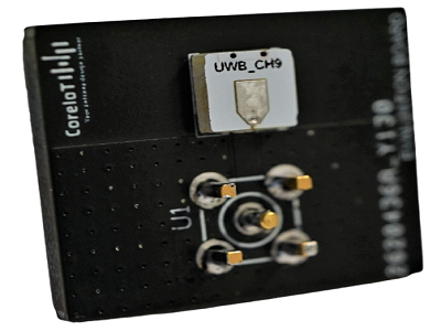 UWB SMD Chip Antenna for Ch 5 to Ch 9